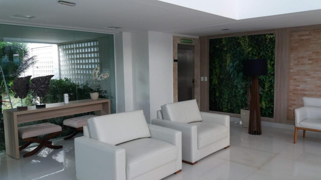 Apartamento com 4 dormitórios à venda, 187 m² por R$ 1.200.000 - Altiplano - João Pessoa/PB