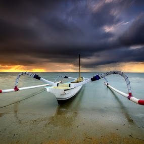 Harmony by Manu Teja - Transportation Boats ( bali, sunset, sunrise, seascape, landscape )