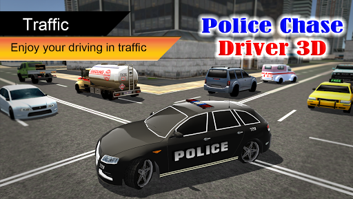 Police Chase Driver 3D - screenshot