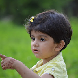 Aroush by Muhammad Tahir - Babies & Children Child Portraits ( happy baby, park, cute, public )