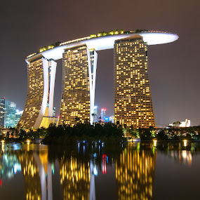Marina Bay Sands by Lina Sariff - Buildings & Architecture Office Buildings & Hotels