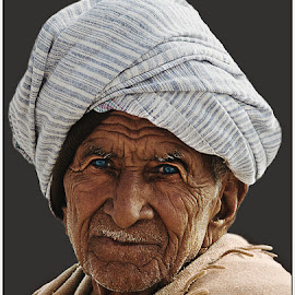 Lines of ages by Abhik Banerjee - People Portraits of Men ( portrait,  )