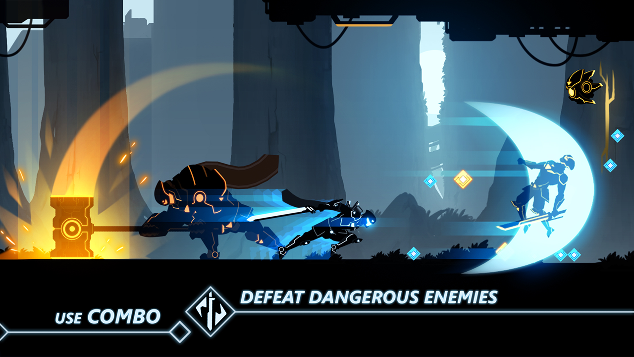 Overdrive - Ninja Shadow Revenge Screenshot 1