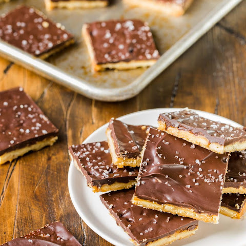 Rosemary Cracker Toffee Bars