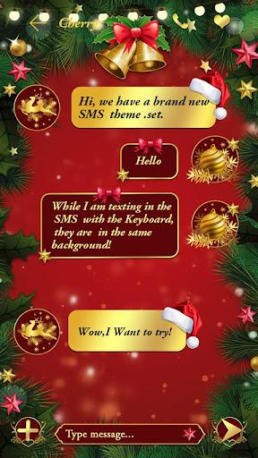 (FREE) GO SMS XMAS THEME For PC