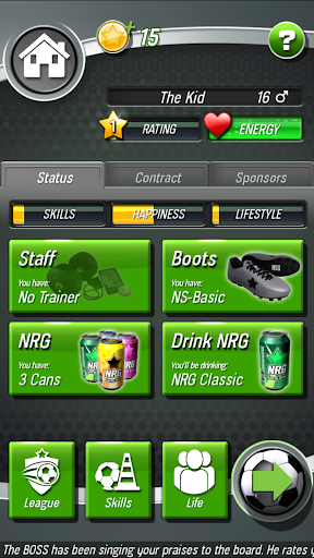 New Star Soccer screenshot 4