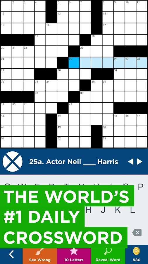 Daily Celebrity Crossword Screenshot 0