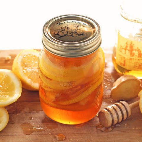 Honey Lemon Ginger Jar - Natural Cold & Flu Remedy