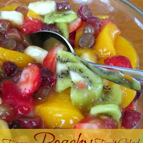Fruit Salad With Peach Pie Filling