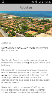 KERMIA BEACH BUNGALOW HOTEL - screenshot