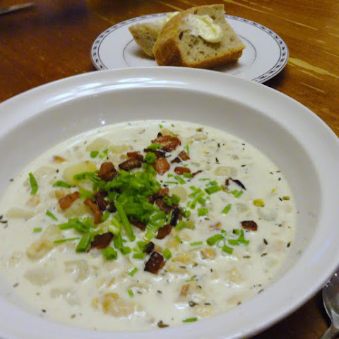Gluten Free Thick Clam Chowder