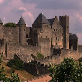 Carcassonne by Camruin Kilsek - Buildings & Architecture Public & Historical ( castle fortress france carcassone )