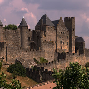 Carcassonne by Camruin Kilsek - Buildings & Architecture Public & Historical ( castle fortress france carcassone )