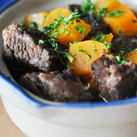 Paleo Winter Squash and Beef Stew