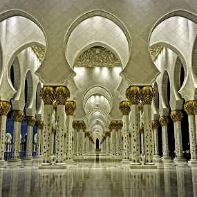 grand mosque by Manny Fajutag - Buildings & Architecture Architectural Detail