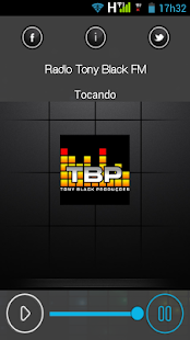 Rádio Tony Black FM - screenshot