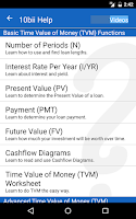 Screenshot of 10bii Financial Calculator
