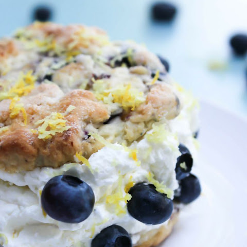 Blueberry Lemon Shortcakes