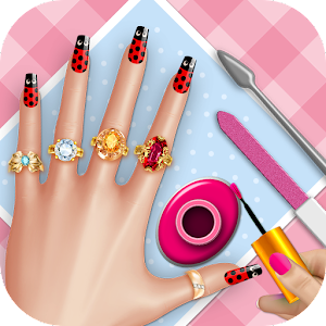 Fancy nail saloon