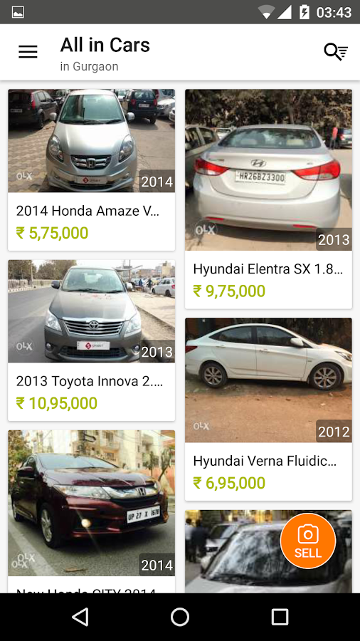 OLX Local Classifieds Screenshot 1