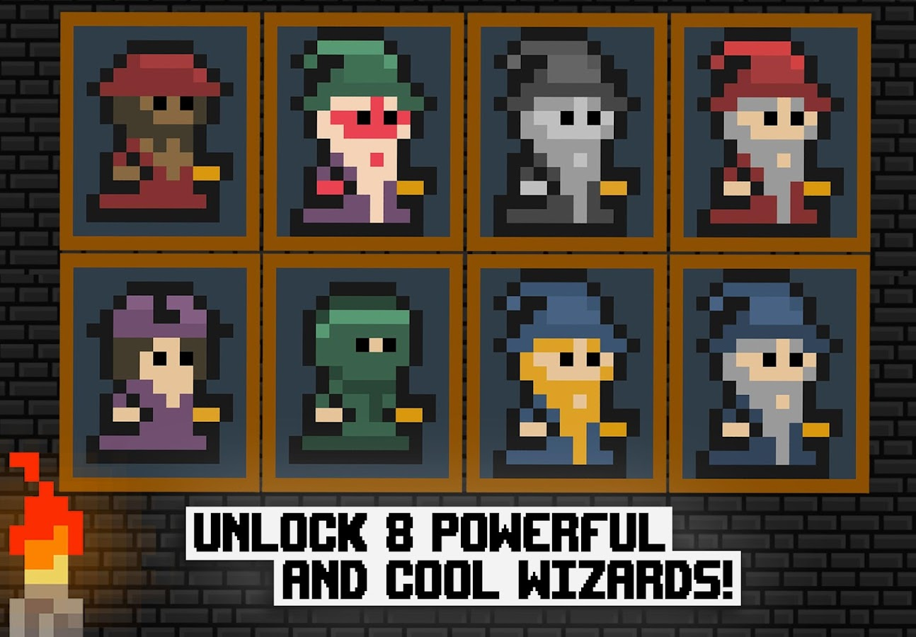Pixel Wizard Adventures 2D Screenshot 4