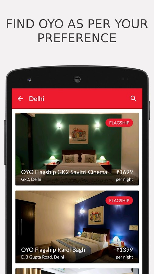 OYO - Online Hotel Booking App Screenshot 1