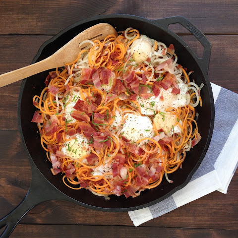 Sweet Potato Skillet with Bacon