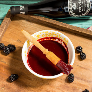Blackberry Chipotle Truvée Red Wine Barbecue Sauce