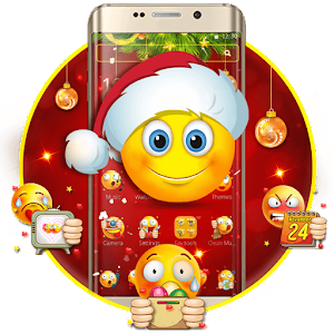 Christmas Emoji Theme For PC