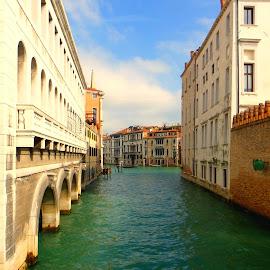 Beautiful Venice  by Magdalena Dedić - Novices Only Landscapes ( venezia, street, venice )