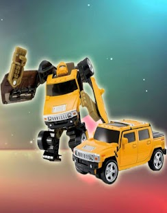 Toys Robot Transformers Puzzle - screenshot