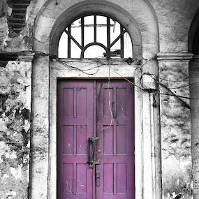 Purple Door by Jenni Ertanto - Buildings & Architecture Public & Historical ( building, purple, door, public place, architecture )