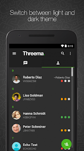 Threema- screenshot thumbnail