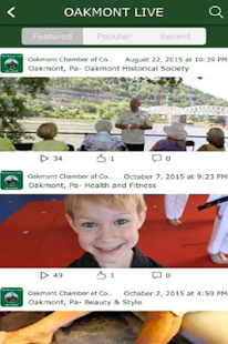 Oakmont Chamber of Commerce - screenshot