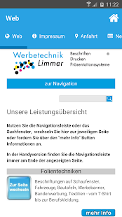 Werbetechnik Limmer - screenshot