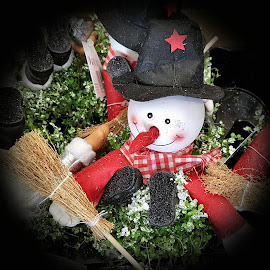 Snowman decoration by Patrizia Emiliani - Instagram & Mobile Android ( snowman decoration,  )