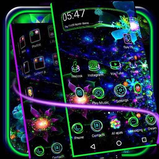 Neon Lotus Theme (app)