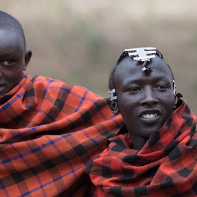 Brothers by VAM Photography - People Street & Candids ( tanzania, culture, men, maasai, travel, people )