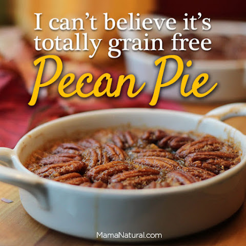 Gluten Free Dessert – Grain-Free Pecan Pie (Guest Post from Coco's Well)