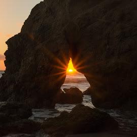 by Nazanin Kaveh - Landscapes Sunsets & Sunrises ( sunset in malibu )