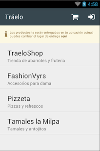 Tráelo - screenshot
