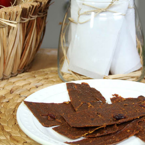 Pumpkin Spice Fruit Leather