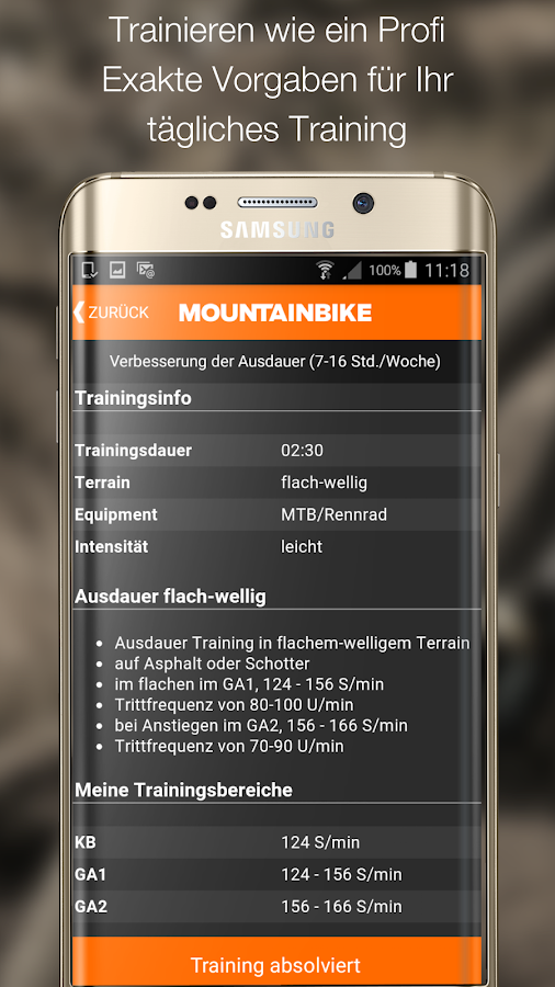 MOUNTAINBIKE Trainer Screenshot 1
