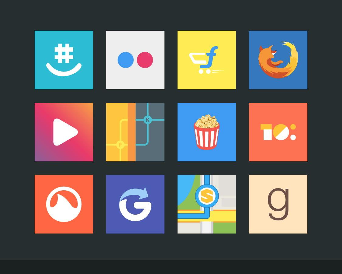 Flatout Minimal IconPack Theme Screenshot 12