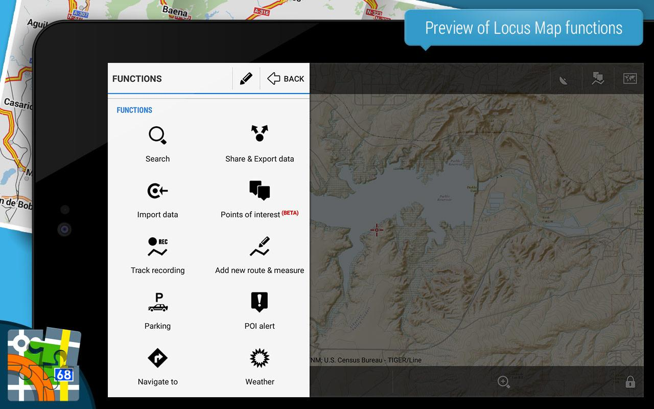 Locus Map Pro - Outdoor GPS navigation and maps Screenshot 8