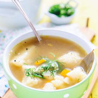Cauliflower Vegetable Soup Recipes