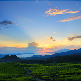 Sunrise in Subang, West Java by Budiana Yusuf - Landscapes Mountains & Hills