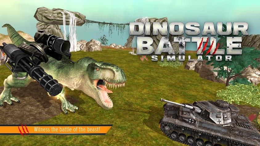 Dinosaur Battle Simulator Screenshot