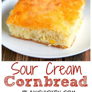 Cornbread With Creamed Corn And Sour Cream Recipes