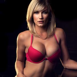 Sensuality by Jasper Van Zyl - Nudes & Boudoir Boudoir ( glamour, blonde, model, lingerie, boudoir, woman )